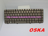 496121-001 NEW HP dv3000 Bronze US Laptop Keyboard